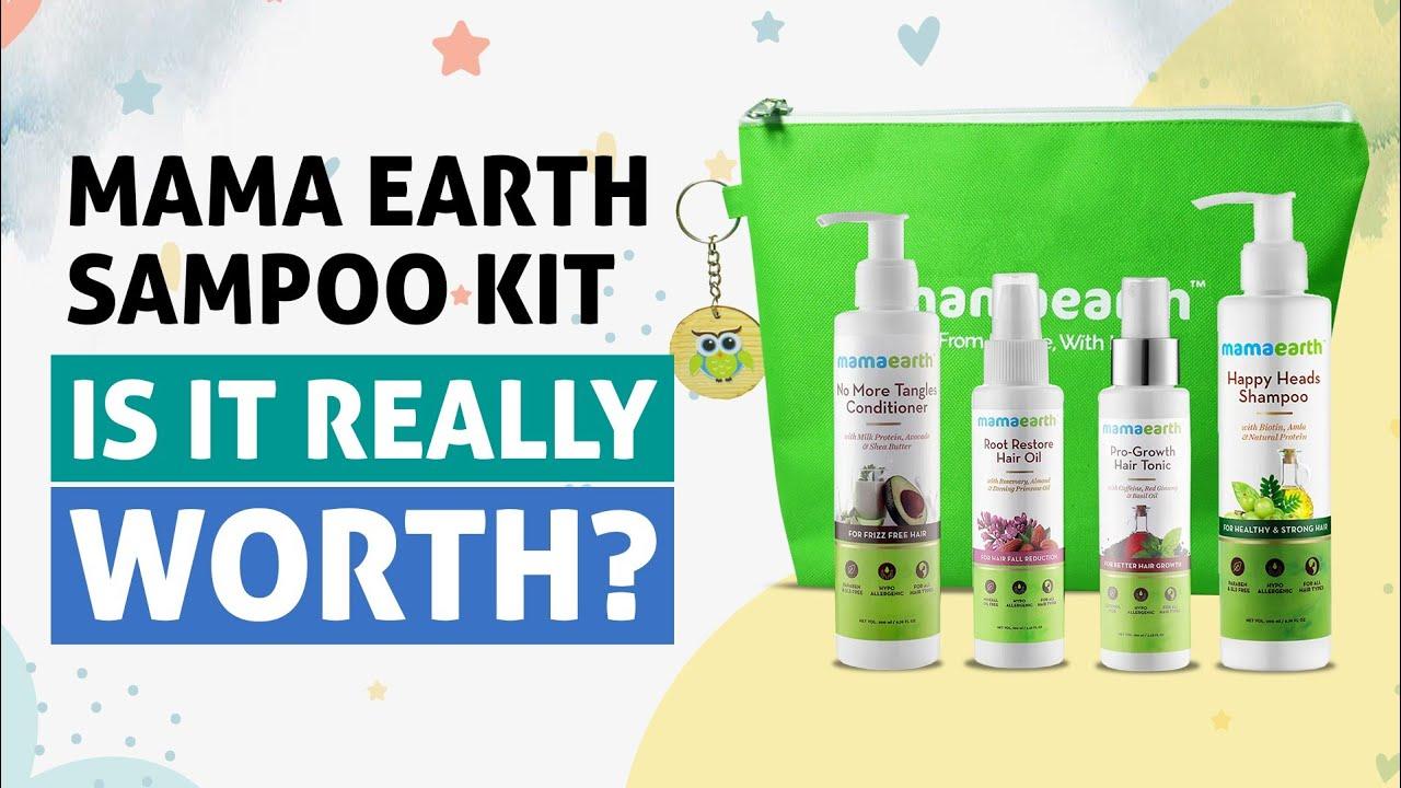 MamaEarth Anti Hair Fall Kit Review: Best Shampoo For Hair ...