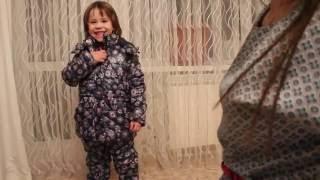 Новинка. Обзор костюма для девочки из коллекции СИЯНИЕ