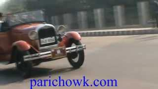 Vintage Car Rally from Delhi to Agra via Greater Noida Parichok