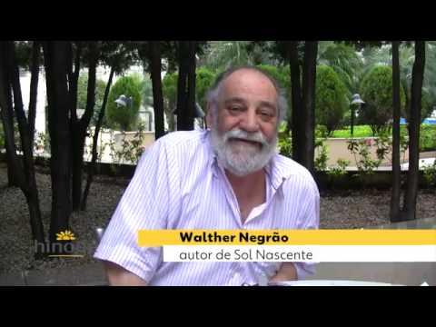 Walter Negrão, autor de novelas da Rede Globo, fala da Hinode - se treinar fica bom