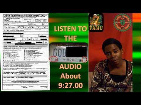 110717 Ku Klan Klan Traffic Stop Of Community Activist Vogel Denise Newsome
