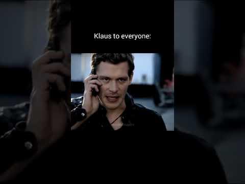 Download Klaus to everyone vs Klaus to Caroline