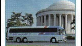 GREYHOUND MOTORCOACHES AUDIO RECORDING 1989 EAGLE BUS #0785