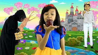 Drama Anak SNOW WHITE ♥ DONGENG ANAK INDONESIA| Fairy Tale Bedtime Story For Kids