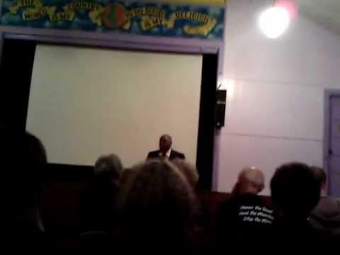 Jonathan Lewis intro to Dr Bernard Lafayette Jr. - Oakland, CA - 9/20/12 - 2 of 2