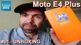 Motorola Moto E4 Plus - Unboxing e Espeficações