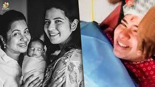 OMG! Radhika's Daughter EMOTIONAL Pregnancy VideoI Radhika Sarathkumar,Abhimanyu Mithun ICinema News