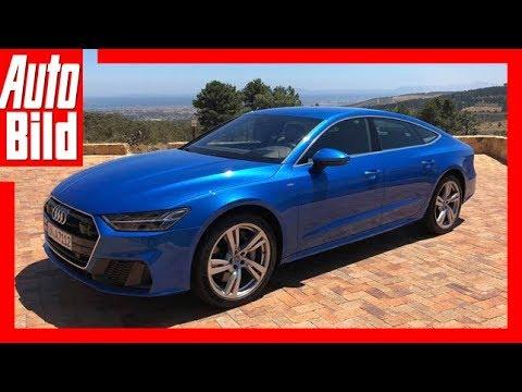 Audi A7 (2018) Erste Fahrt/Review/Details/Erklärung