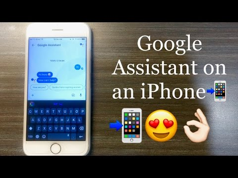 Google Assistant on an iPhone !!! ✔