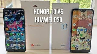 Honor 10 vs Huawei P20 | Full hands-on comparison