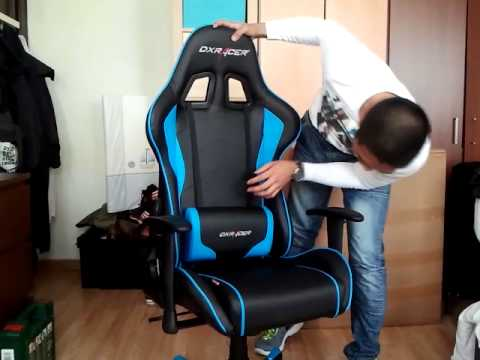 Dxracer F Series Blue Installation 2 Of 2 By Josh Youtube
