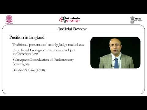 Judicial review (LAW)