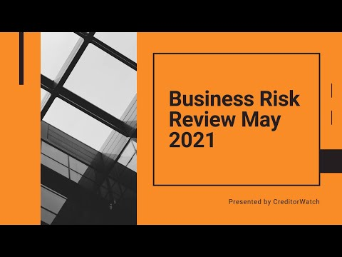 Business Risk Review May 2021