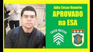 O que o Júlio Cesar APROVADO NO CONCURSO DA ESA acha do Coach Militar e do Curso Elite Mil?