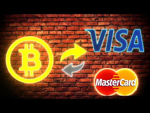 Как вывести Bitcoin на карту Visa или MasterCard