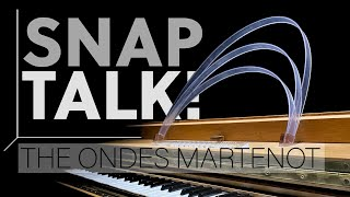 ONDES MARTENOT : 3 min of incredible facts. SnapTalk! with Augustin Viard, Ondist.
