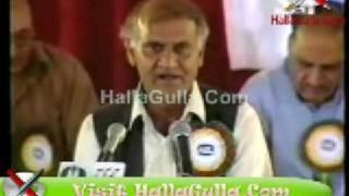 Funny Mazahiya Punjabi Mushaira Anwar Masood HallaGulla Com