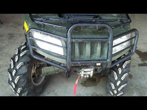 arctic cat 700 diesel engine view