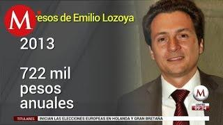 Estos son los ingresos de Emilio Lozoya