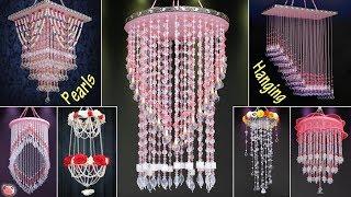 7 DIY Pearls Wall Hangings !!! Pearl Chandelier || Jhumar Ideas || Handmade