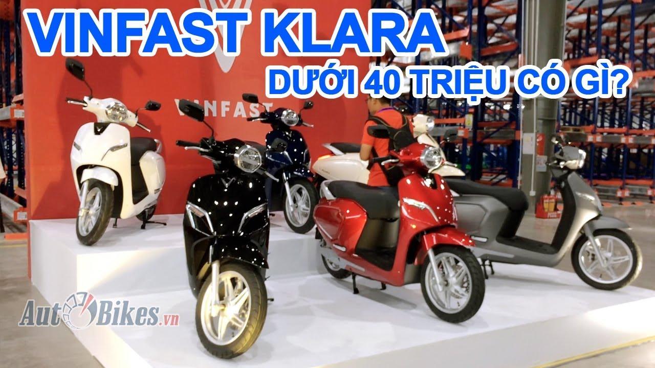 Giá chốt 21-35 triệu, xe máy điện VinFast Klara có gì ?