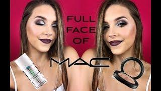 FULL FACE OF MAC MAKE-UP | Ellen Barron