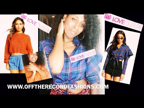 Love Culture Review | Fall Clothing Try On Haul| Diamond Janae
