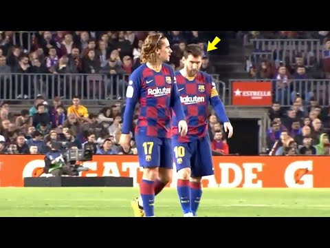 Look at what happened between Lionel Messi & Griezmann during Barcelona vs Levante game | MrMatador
