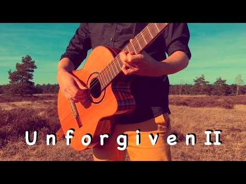 METALLICA - The Unforgiven II (Acoustic) - Classical Fingerstyle guitar by Thomas Zwijsen
