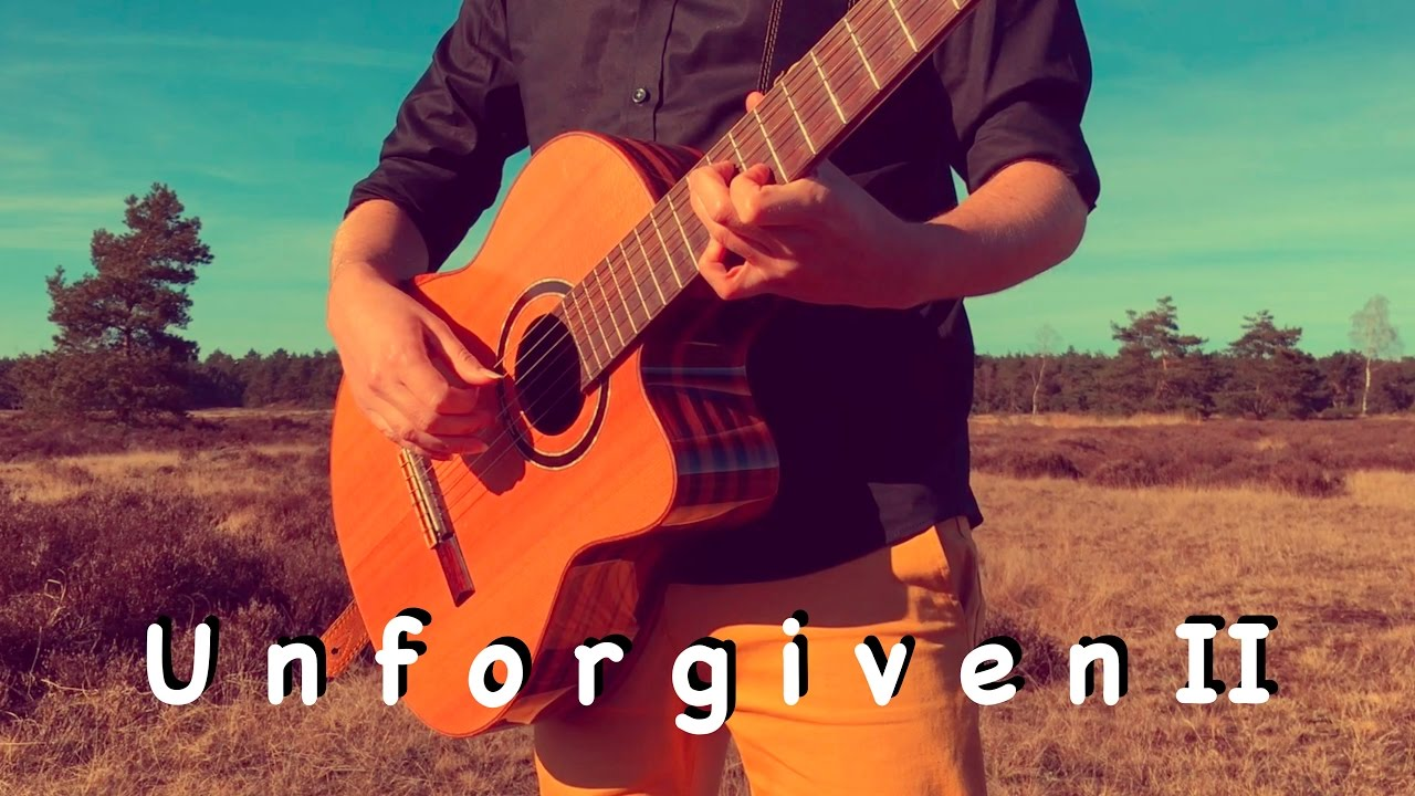 Metallica The Unforgiven Ii Acoustic Classical Fingerstyle