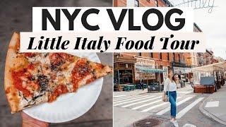 NYC VLOG: Little Italy Food Tour, Margarita Happy Hour, Unboxings- Dana Berez
