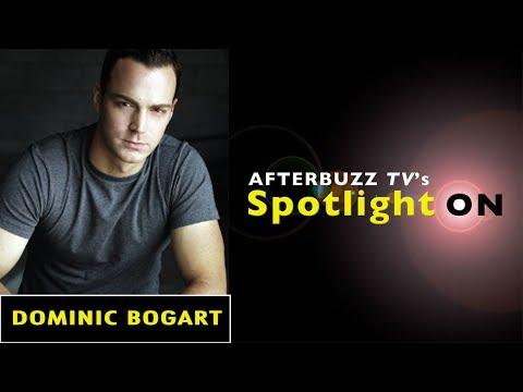 Dominic Bogart   AfterBuzz TV's Spotlight On