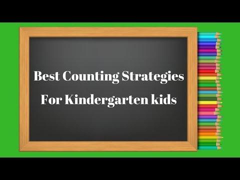 Best Counting Strategies For Kindergarten kids