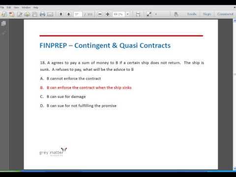 Contingent & Quasi Contracts   bandicam 2013 08 10 15 38 15 078