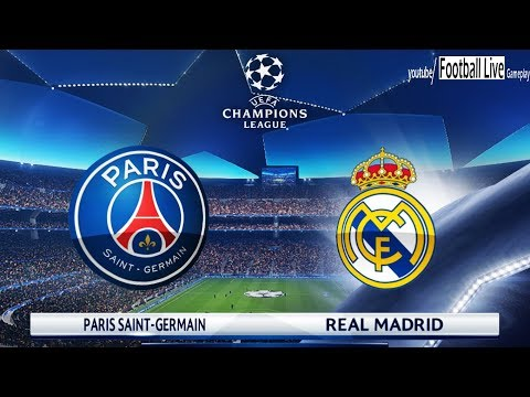 Pes 2018 Paris Saint Germain Psg Vs Real Madrid Uefa Champions League