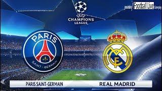 PES 2018 | Paris Saint Germain [PSG] vs Real Madrid | UEFA Champions League (UCL)
