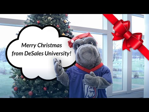 Merry Christmas 2019 from DeSales University
