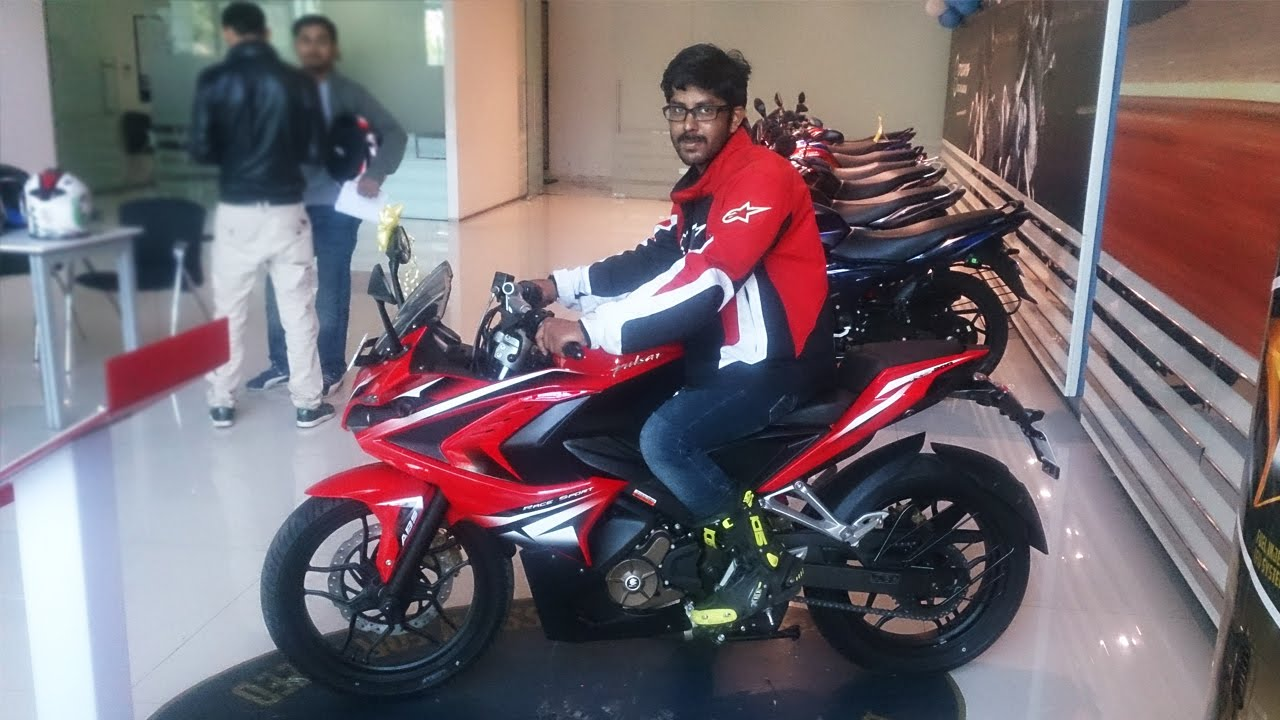 Pulsar RS 200 First Impressions - details - YouTube