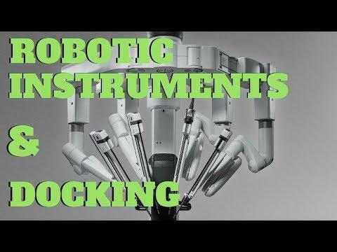 Davinci Xi Instruments and Docking