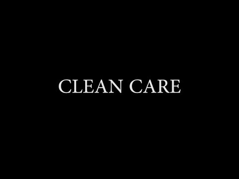 Clean Care on an Oven Door Glass