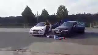 Alba24 Video Bataie LIVE in benzinaria din Orastie