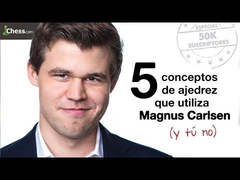 5 conceptos de ajedrez que usa Magnus Carlsen (y tú no)