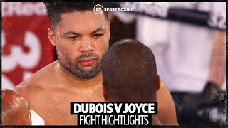 WHAT A WAR! Daniel Dubois v Joe Joyce official fight highlights