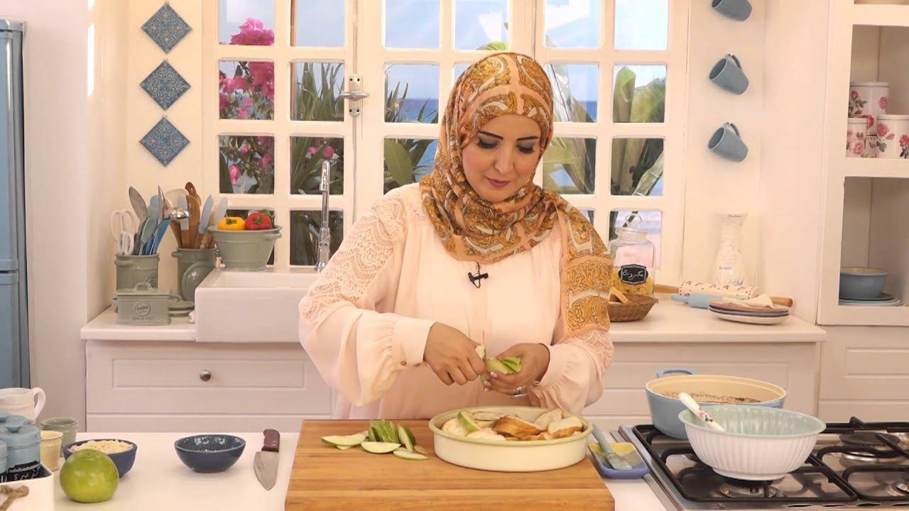 بودينج التفاح و بيتزا بودينج حادق مع اسيا عثمان في مطبخ اسيا (الجزء الثاني)