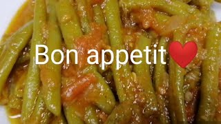 Simple and easy green beans recipe | Lubi bseit | Lebanese Filipino family