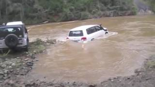 BIG RED 4X4 River crossings