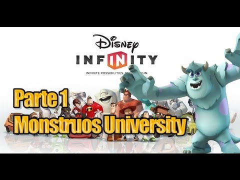 Disney Infinity - Parte 1 Monstruos University - Español Videos De Viajes