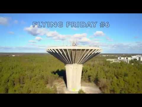 FLYING DRONE AROUND TURKU | FLYING FRIDAY #6