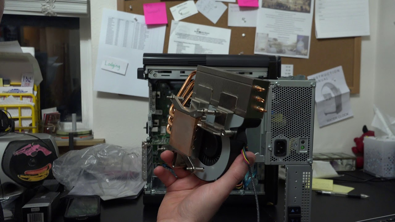 Simple CPU Cooling Option for Dell XPS 8930?