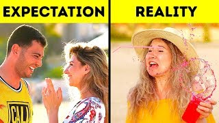 EXPECTATION VS REALITY OF A WOMAN'S LIFE